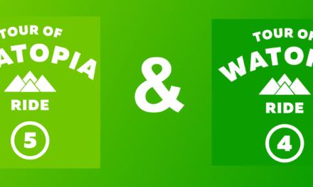 Tour de Watopia 2020: mes étapes 4 et 5