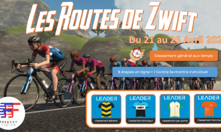 Les Routes de Zwift de la Frenchy Fuzion
