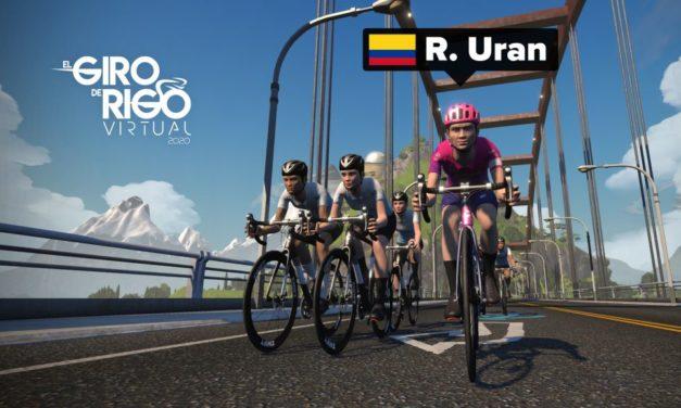 El Giro de Rigo: roulez avec Rigoberto Uran les 15/16 novembre