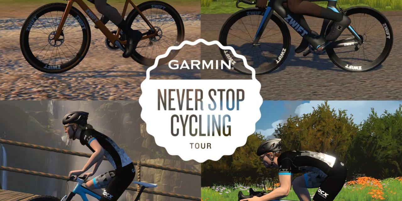 L'event du mois de novembre: Garmin – Never Stop Cycling!