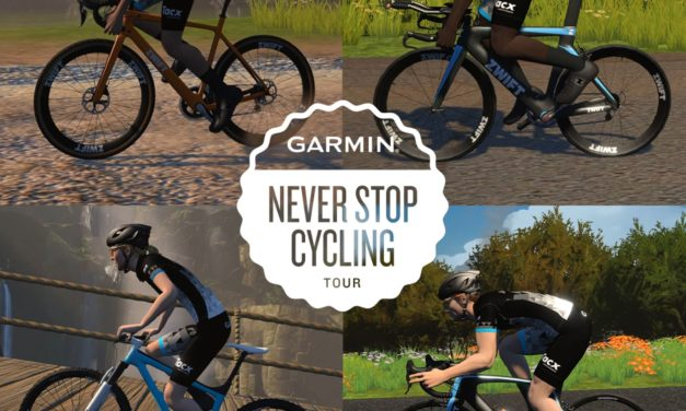 L'event du mois de novembre : Garmin – Never Stop Cycling!